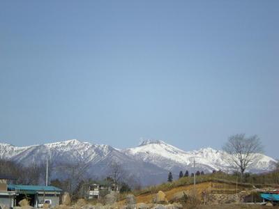 ひさびさの 美しい那須山…
