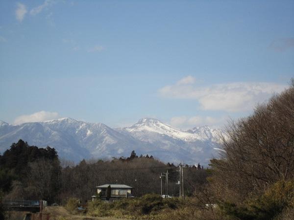 1月28日 本日の那須山