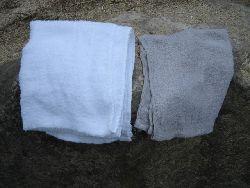 鉱泥温泉 タオル
