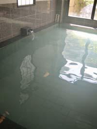 加熱の浴槽