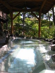 森林浴の湯