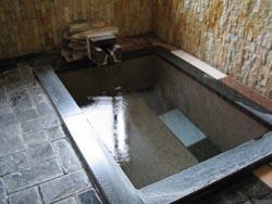 部屋付きの内湯