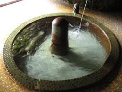 露天 源泉浴槽