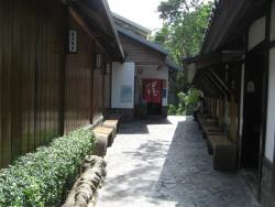温泉の建物