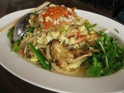 蟹の野菜炒め