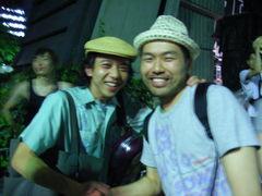 ばったりお会いしたBBBBのコーさん、実は石井さんと知り合いだったり