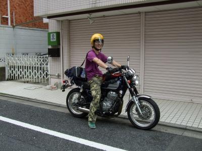 ヤスとバイク