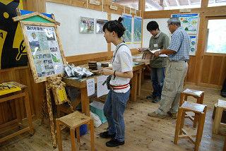 森林・林業に関する展示