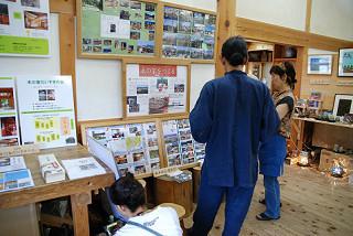 木の家づくりに関する展示