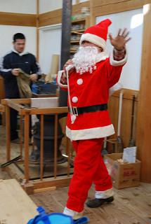 木楽里サンタも登場!