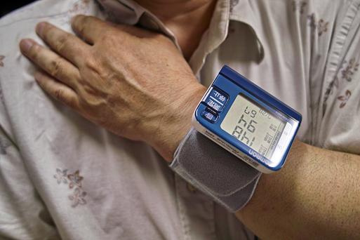 お洒落な血圧計