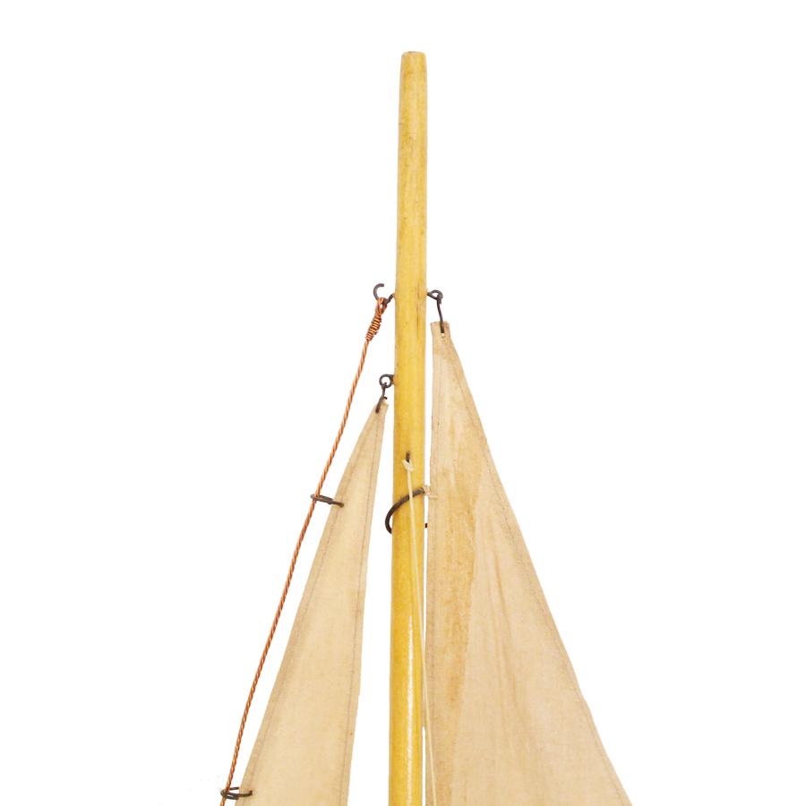 ヴィンテージのヨット模型