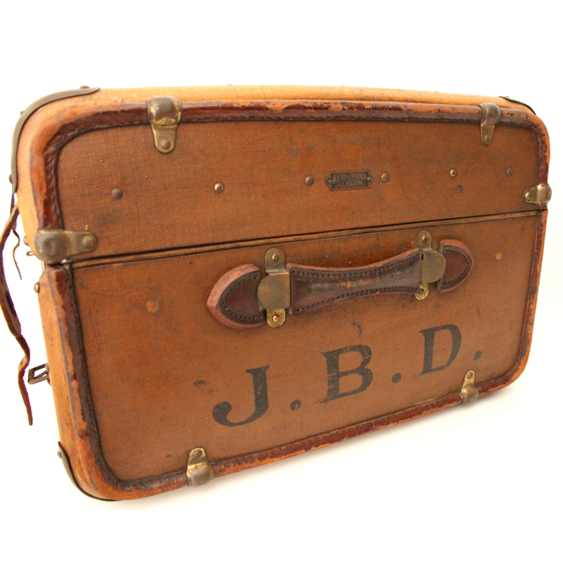 REID&TODD GLASGOW ANTIQUE TRUNK made in England 横