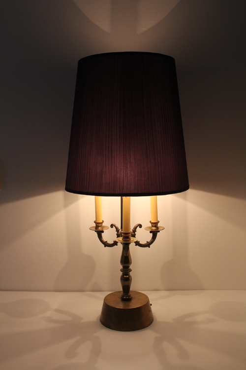 VINTAGE TABLE LAMP 4SPOTS 9WAY  3