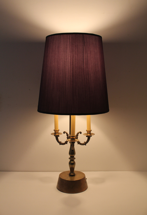 VINTAGE TABLE LAMP 4SPOTS 9WAY 6
