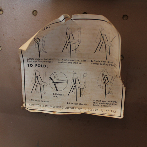 chair tag