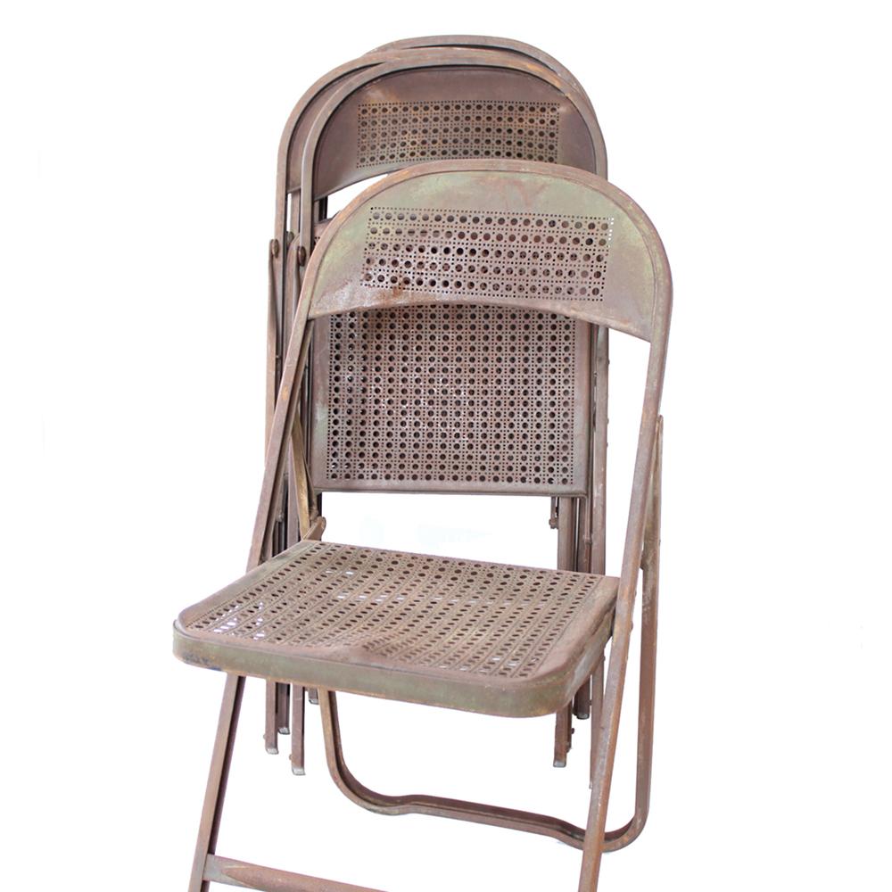 6脚揃いです 折りたたみ椅子