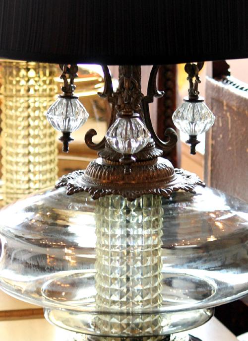 テーブルランプの飾り