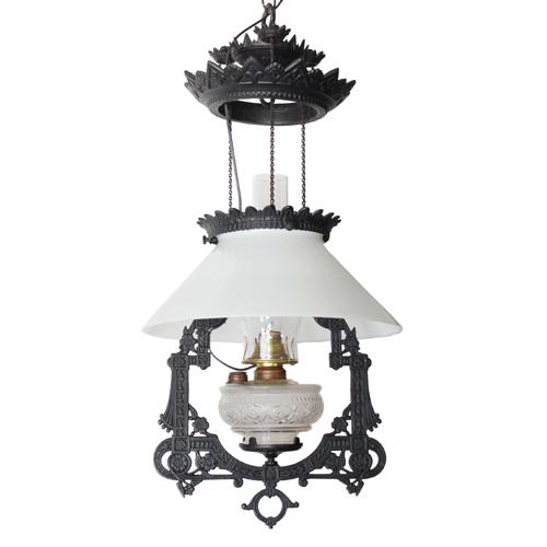 1870年代製のアンティーク照明
