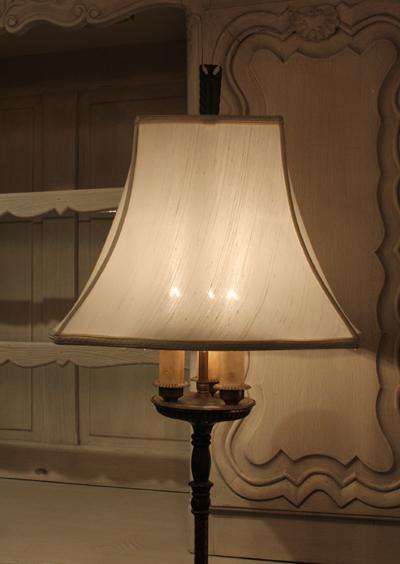 アンティーク照明 シェードランプ