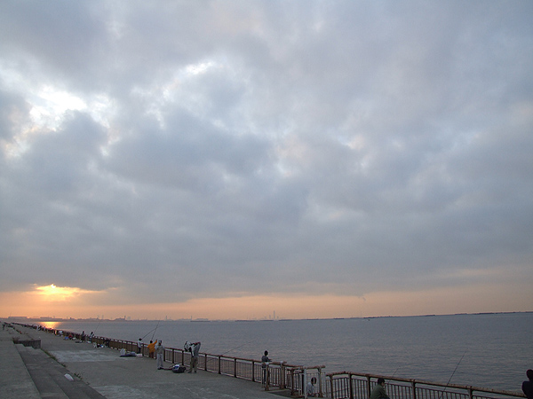 芦屋市総合公園・朝釣り