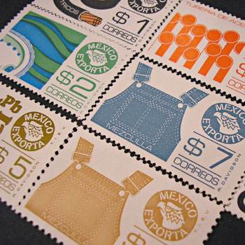 メキシコの切手