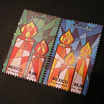 メキシコクリスマス切手