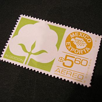 メキシコ貿易の切手