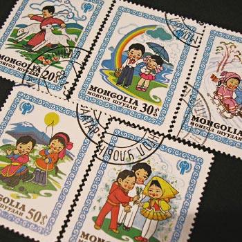 モンゴルの切手その2