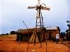 アフリカの風力発電機