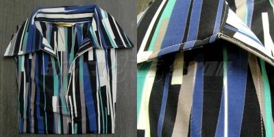 メトロポリタンブルー 半袖