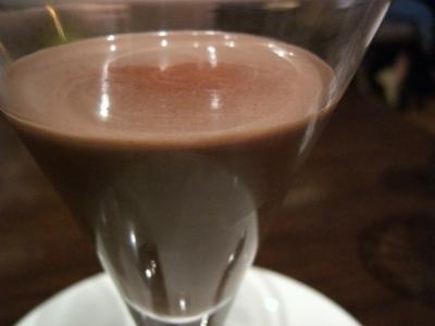 チョコレートジュース