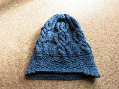 次男の帽子2