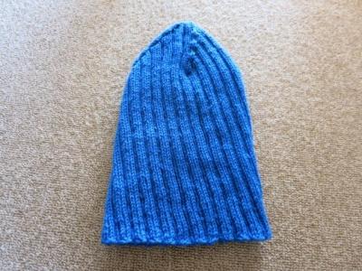 長男の帽子1