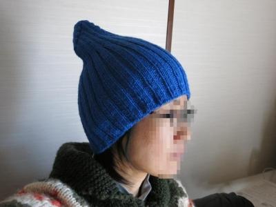 長男の帽子3