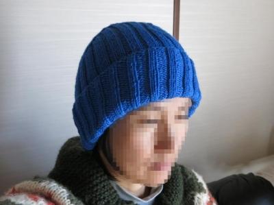 長男の帽子4