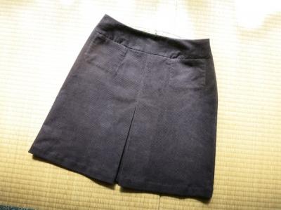 ひざ上プリーツスカート1