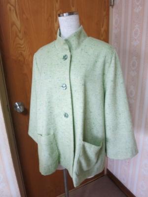 若草色のジャケット1