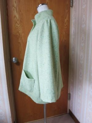 若草色のジャケット2