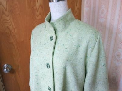 若草色のジャケット4