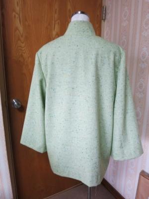 若草色のジャケット3
