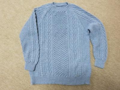 トリニテイステッチのセーター1