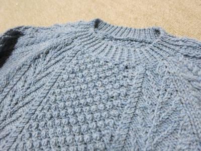トリニテイステッチのセーター2