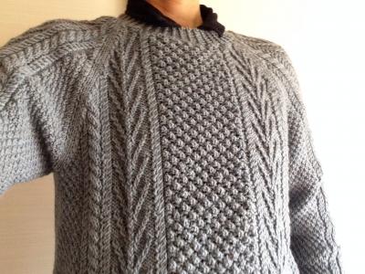 トリニテイステッチのセーター3
