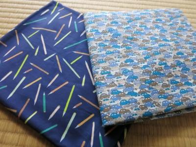 車布と鉛筆布