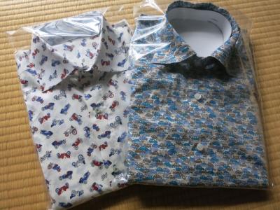 カーズのワイドスプレッドカラーシャツ