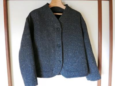 ダブルフェースのジャケット