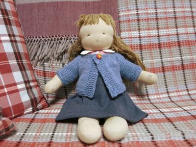 ウォルドルフ人形のセーター