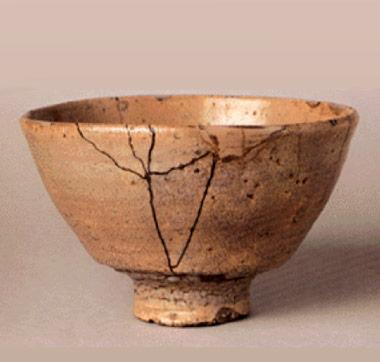 井戸茶碗 [ 筒井筒 ]   重要文化財 個人蔵 金沢市