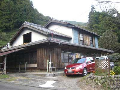 川根の古民家再生工事